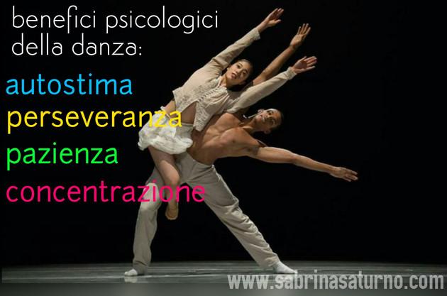 Benefici psicologici della danza