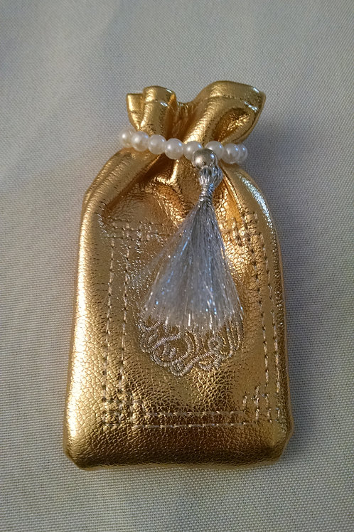 mini coran doré et argenté