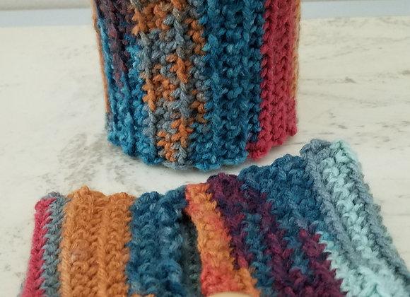 Hand-knit Mug Warmer