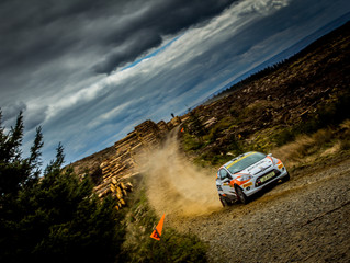MH Motorsport Cadets face tough Ypres Rally