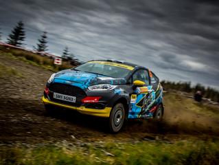 MH Motorsport hunt Junior BRC lead at Scottish Rally