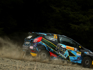 MH Motorsport takes Pirelli Rally Junior podium