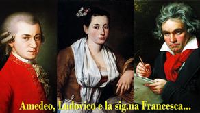 Amedeo, Ludovico and ms. Francesca