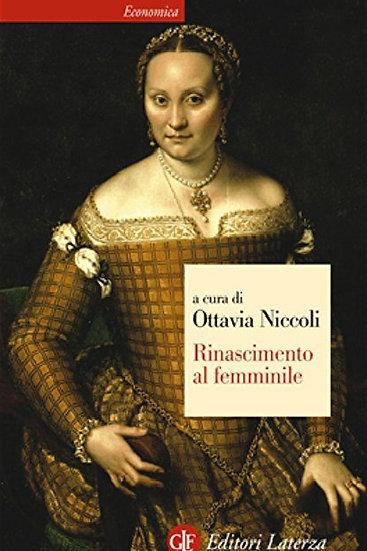 Rinascimento al femminile - Ottavia Niccoli
