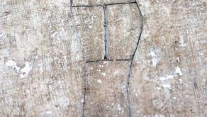 La scarpa incisa sulla cattedrale di Terni