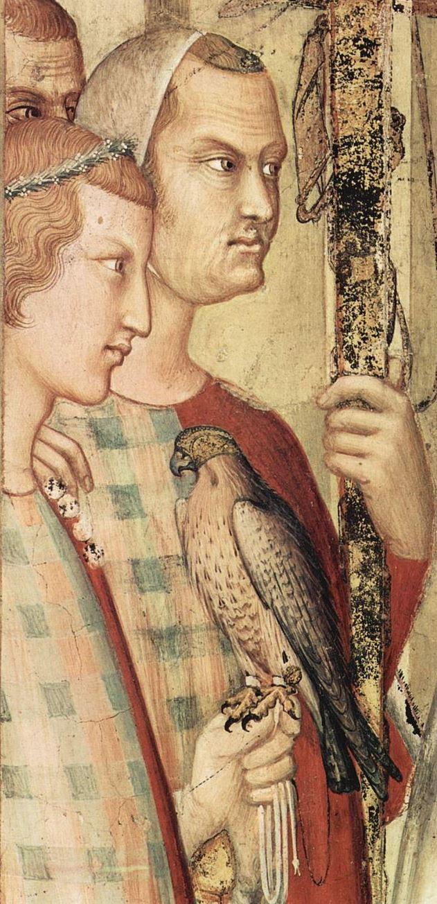 1313-18 Simone Martini,dettaglio degli affreschi della Cappella di San Martino, San Francesco, Assisi (PG)