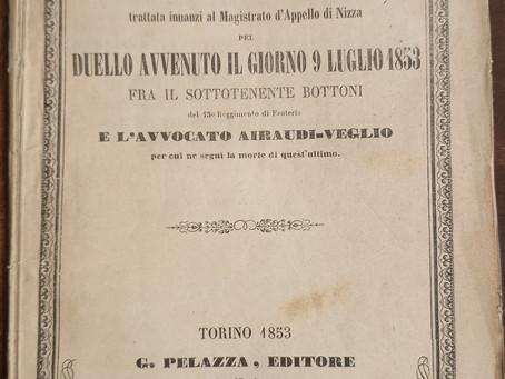 1853, Nizza: un duello mortale