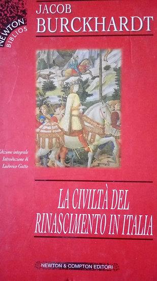 J. Burckhardt - La civiltà del Rinascimento in Italia