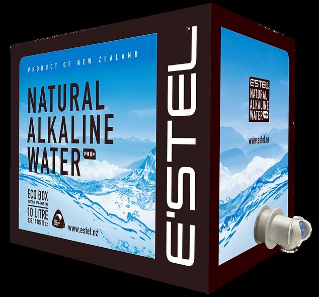 E'stel '10' Eco Box - Natural Alkaine Water