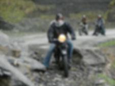 Sortie moto vintage Dollar Vercors Rosidajean