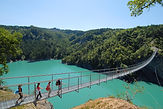 passerelles himalayennes du lac du monteynard