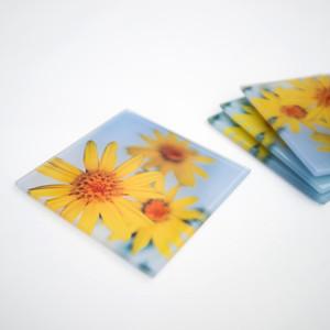 Yellow Flower (Glass)