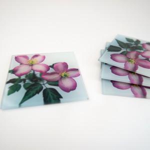 Pink Flower (Glass)