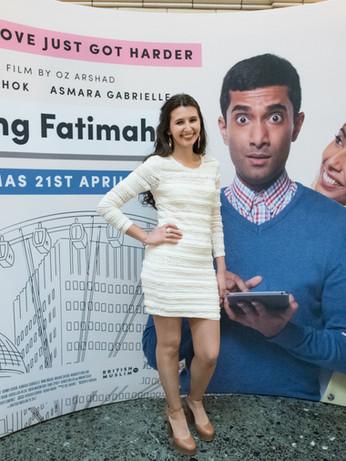 Finding Fatimah Film Premiere, UK