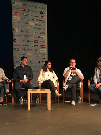 Interview Panel, Marseille Web Festival, France