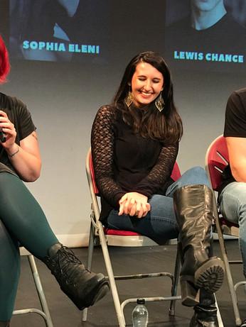 Panel at London Short Series Festival, UK