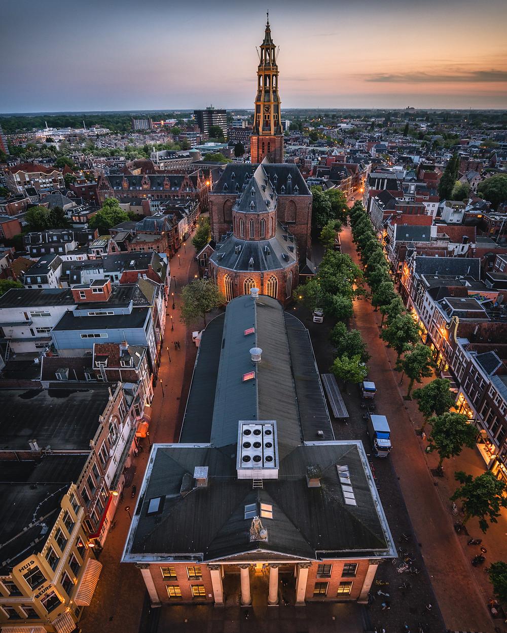 De A-Kerk, Korenbeurs, Vismarkt, Groningen