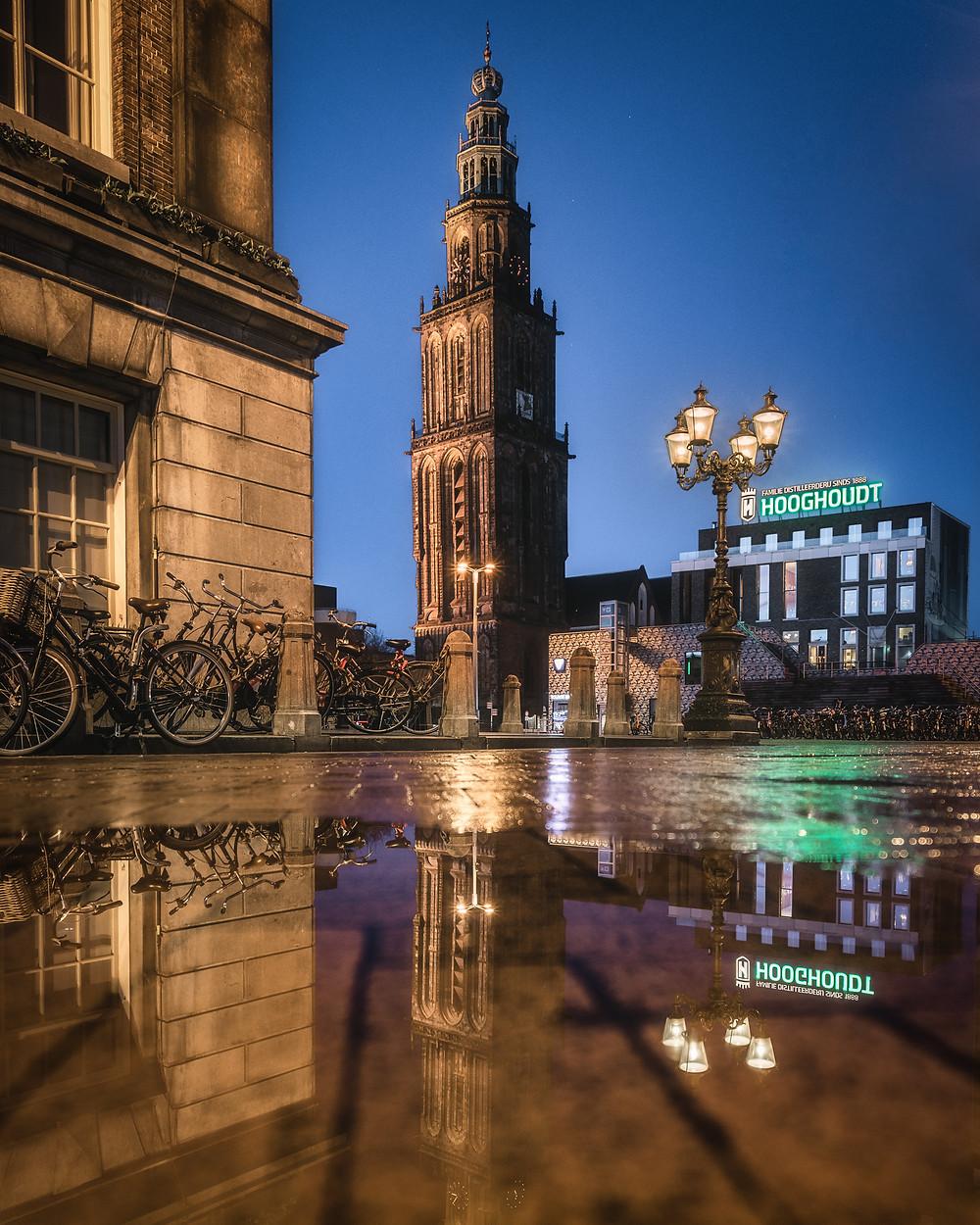 Martinitoren, Grote Markt, Groningen