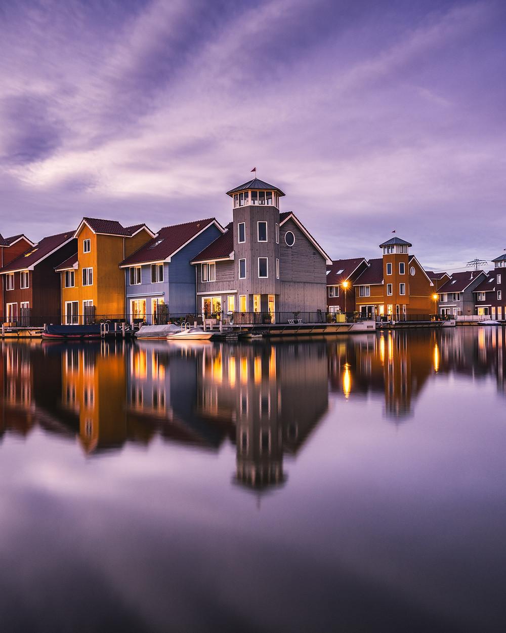 Reitdiephaven, Reitdiep, Groningen