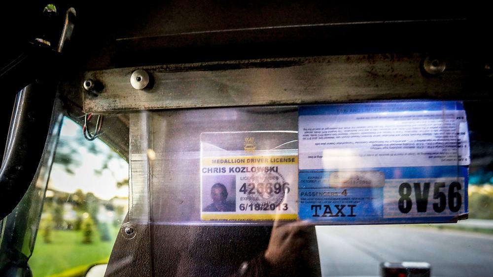 yellow cab nyc, queens taxi driver, harmen van der vaart