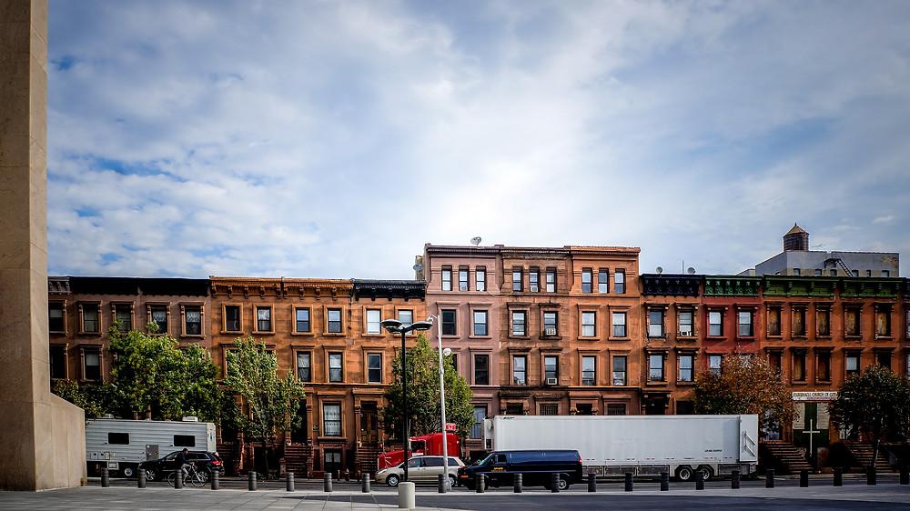 brownstones harlem, 126th St., harmen van der vaart