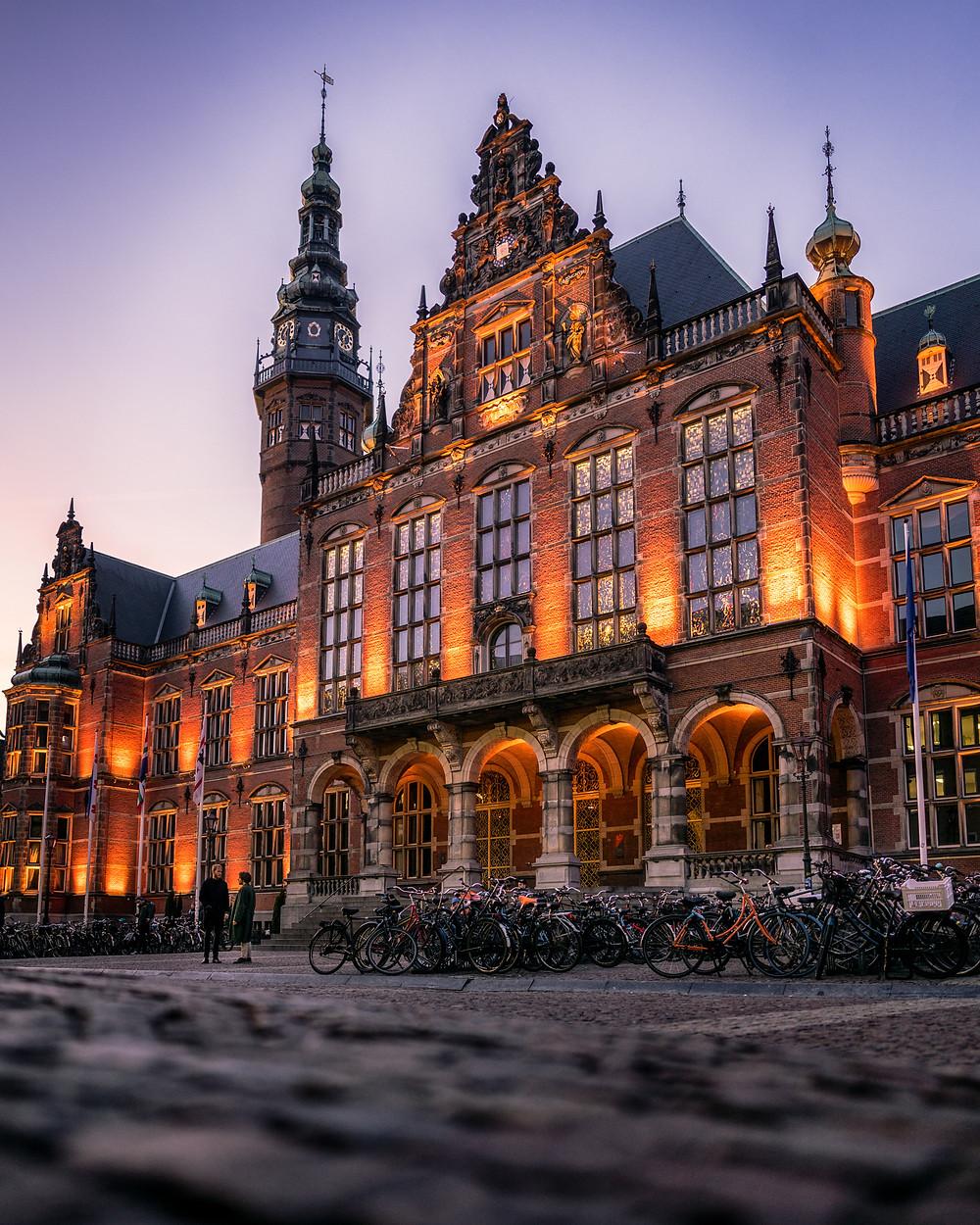 Academiegebouw Rijksuniversiteit Groningen, Academiegebouw, Rijksuniversiteit, Groningen, RUG