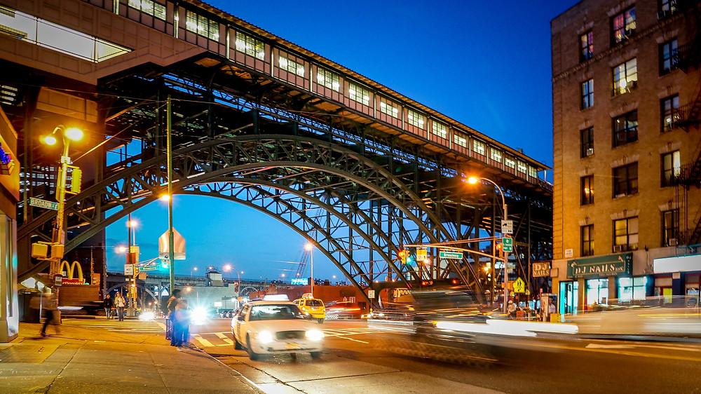 Broadway & W 125th St subway station, harmen van der vaart