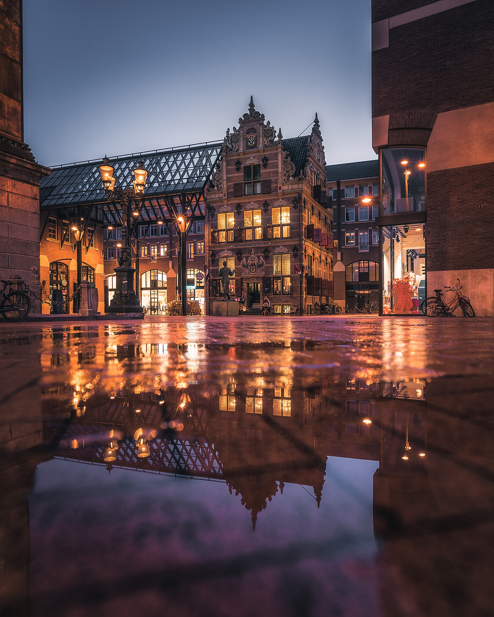 Goudkantoor, Waagplein, Groningen