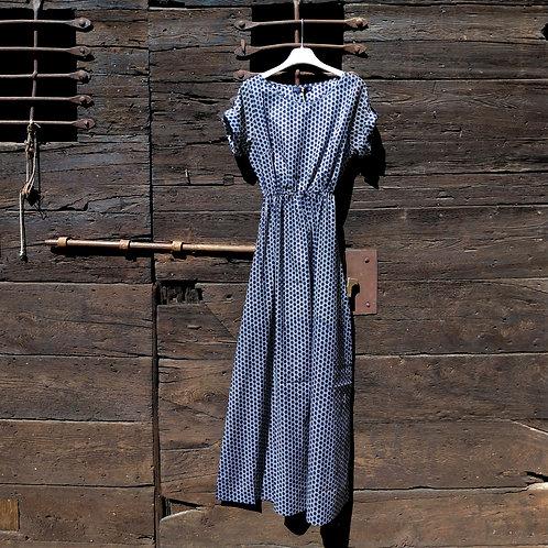 Vestito Lungo a Mezza Manica - Controcorrente