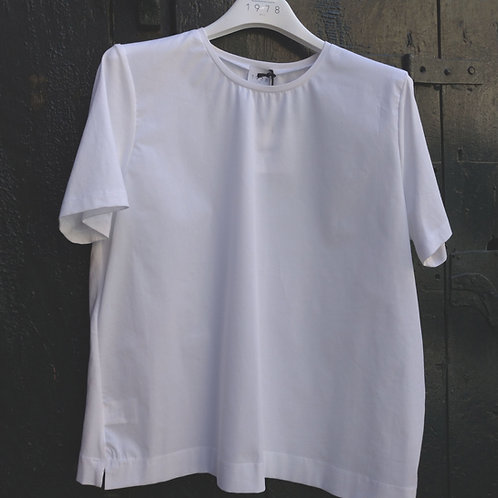 Jersey Poplin/Cotton Blouse