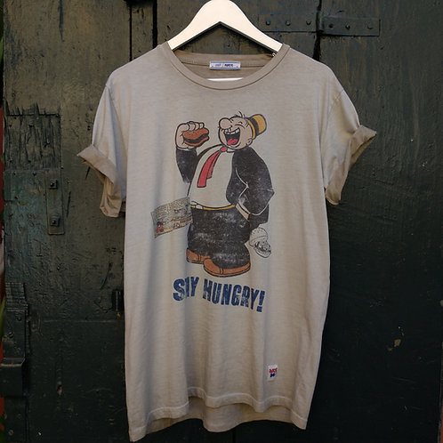 Stay Hungry T-shirt - BoB Popeye