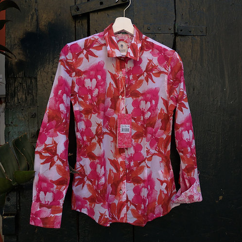 Floral Cotton Shirt - Ganesh