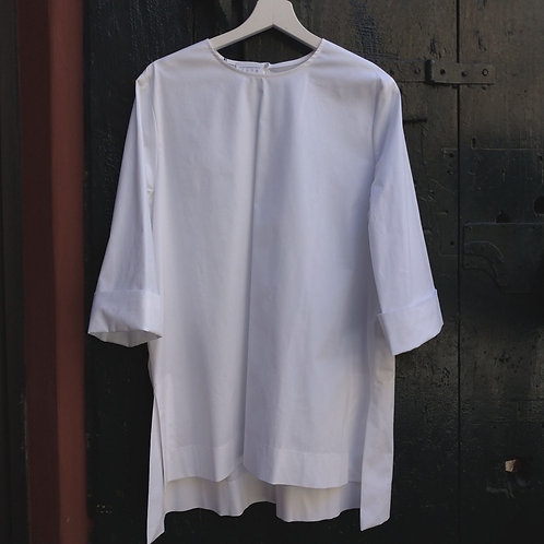 Flared Shirt w/ 3/4 Sleeves