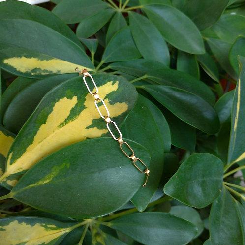 Golden Mesh Thread Bracelet
