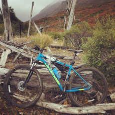Picada Paco Lago Gutierrez en Bicicleta -Patagonia Bike Trips - www.patagoniabiketrips.com