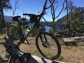 Sendero Picada lago Gutierrez en Bici -Patagonia Bike Trips - www.patagoniabiketrips.com