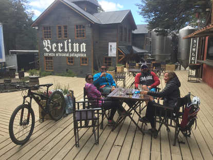 Bike & beer - https://www.patagoniabiketrips.com/