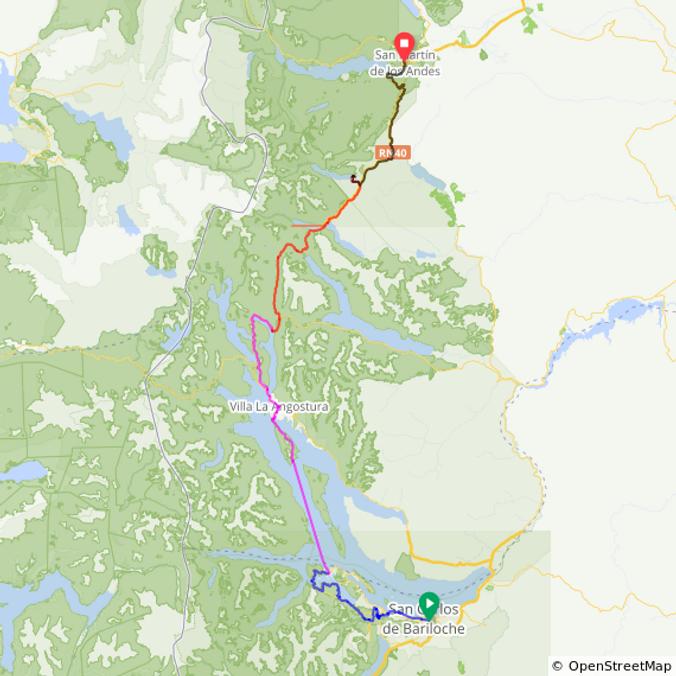 7 lagos con catamaran route-32252898-map