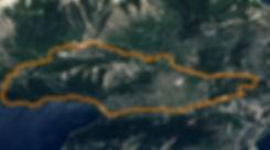Mapa de circuito de mountain bike MTB Paco Etchegaray - Bariloche