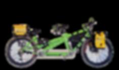 tandem bicycle for rent - patagonia -