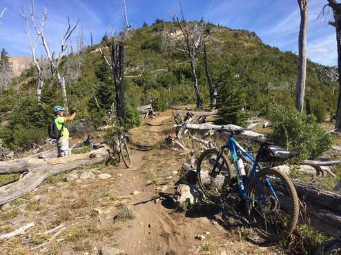 Lago Gutierrez en Bici  - Patagonia Bike Trips - www.patagoniabiketrips.com