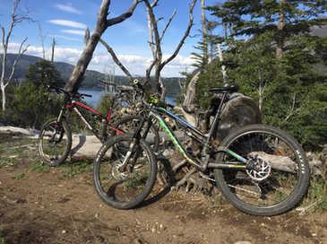 lago Gutierrez en Bicicleta - Patagonia Bike Trips - www.patagoniabiketrips.com