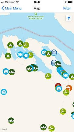 Descargar aplicacion de mapas offline iOverlander | Aplicacion para viajar viajes en bicicleta | La mejor app para viajar en bicicleta | Aplicaciones para viajes | Mapa Argentina