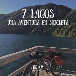 La ruta de los 7 Siete Lagos - Alquiler de Bicicletas - Patagonia Bike Trips - www.patagoniabiketrips.com