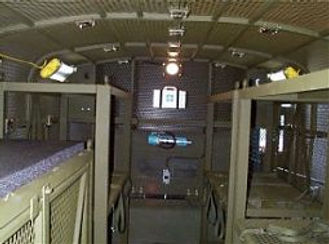 Inside view of MLVW shelter
