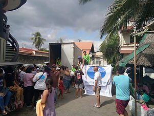 HF PHILIPPINES HELP MORE THAN 3000 TAAL EVACUEES