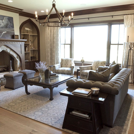 Rustic Living Room - 2017