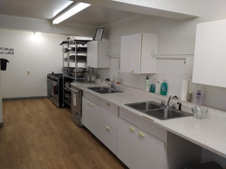 kitchen at hall