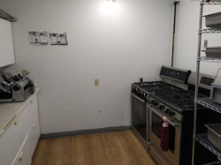 cooking area at hll