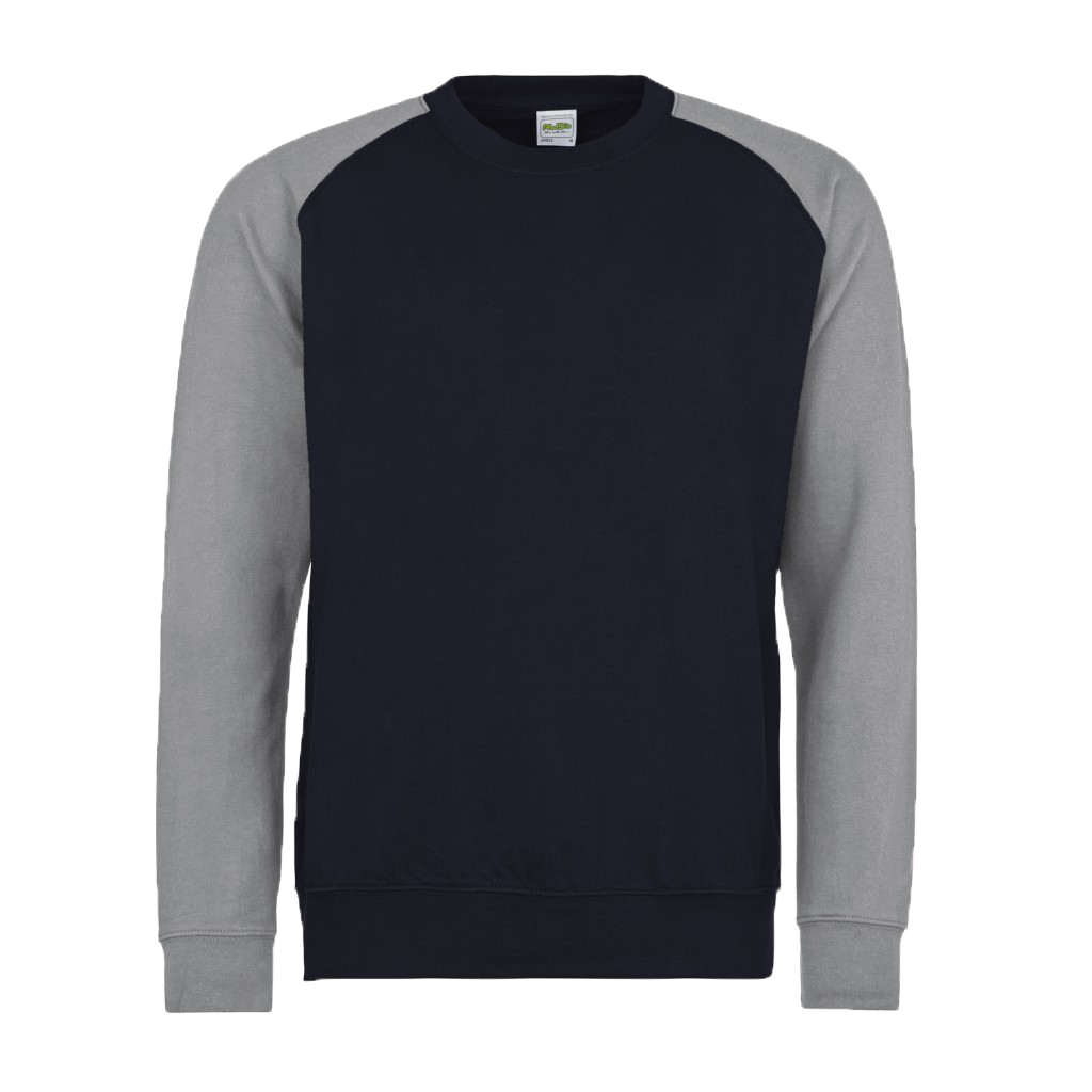 Oxford Navy - Heather Grey